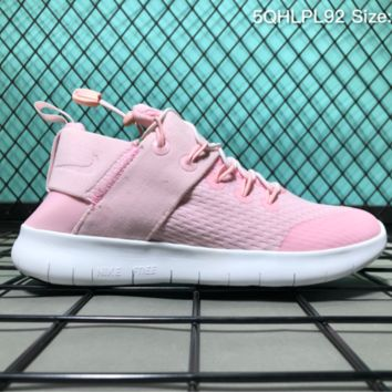 hcxx Nike Free RN Cmtr 2017 Breatheable Running Shoes Pink