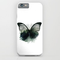 Double Butterfly iPhone & iPod Case by Cafelab