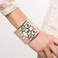 Lattice Cuff - White from Pink by Ele at Lucky 21 Lucky 21
