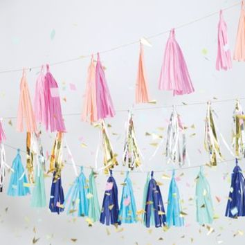Party Tassels For Garlands Or Balloons