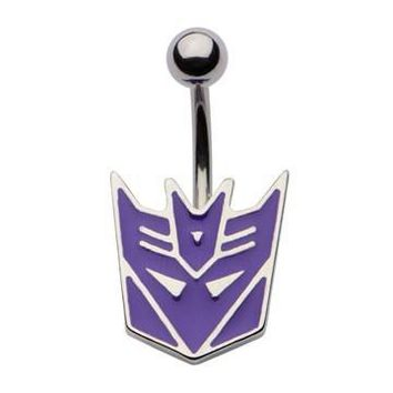 Transformers Decepticons Naval Ring