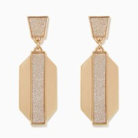 Geo Shimmer Studs | Fashion Jewelry - Poolside Chic | charming charlie