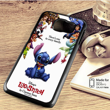 lilo and stitch disney Samsung Galaxy S4 Case, S5 Case, S6 Case, S6 Edge Case, S6 Edge Plus Case, S7 Case, S7 Edge Case, Note 3 Case, Note 4 Case, Note 5 Case, Note Edge Case