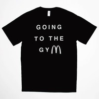 GOING TO THE GYM TEE
