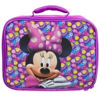 Minnie Mouse - Circle Bursts Soft Lunch Box