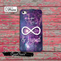 To Infinity Symbol And Beyond Space Galaxy Cute Tumblr Inspired iPhone 4 and 4s Case and iPhone 5 and 5s and 5c Case iPhone 6 and 6 Plus +