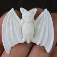 Bat, Carved Bone