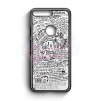 Panic! At The Disco Lyric 3 Cover Google Pixel XL Case | aneend.com