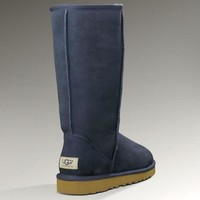 UGG classic wool high boots F Shoes Blue