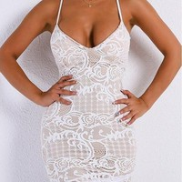 Pracilla Lace Bodycon Dress