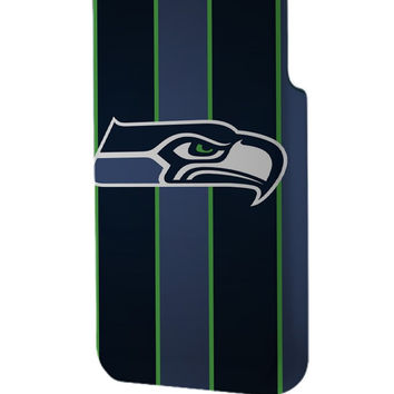 Best 3D Full Wrap Phone Case - Hard (PC) Cover with Seattle Seahawks Design