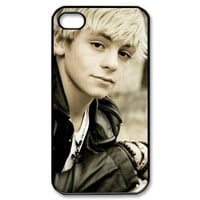 MY LITTLE IDIOT Ross Lynch Hard Plastic Back Protective Case for iphone 4, 4s