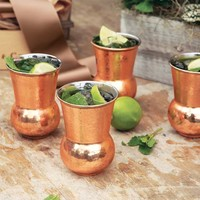 Top 10 For the Host - Hammered Copper Tumblers