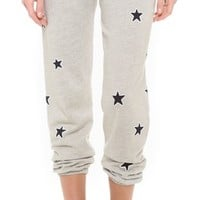 Allover Stars Baggy Pants