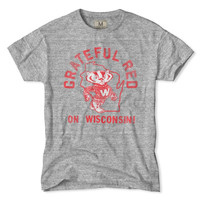 Wisconsin Grateful Red T-Shirt