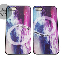 Galaxy Infinity Best Friends iPhone Cases