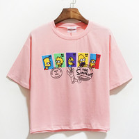 Pink Simpsons T-Shirt