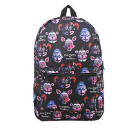 Five Nights At Freddy's: Sister Location Print Backpack