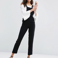 Miss Selfridge Tailored Overall Jumpsuit at asos.com