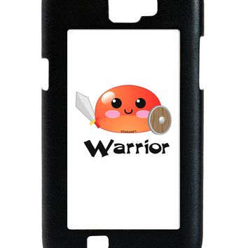 Cute RPG Slime - Warrior Galaxy Note 2 Case  by TooLoud