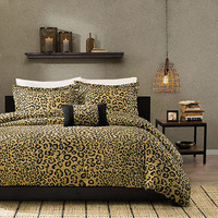 Walmart: Home Essence Congo 4-Piece Bedding Duvet Cover Set