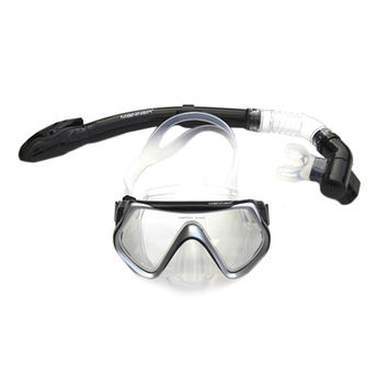 Snorkels Full Dry Type Diving Accessories black
