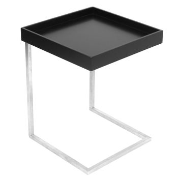 Zenn Tray End Table with Removable Tray