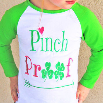 Girls St. Patricks Shirt, St. Patricks Outfit, First St. Patricks Outfit, St. Patricks Top, Personalized St. Patricks Shirt, Girls Shirt