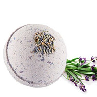 Calm Your Spirit - Lavender And Chamomile All Natural Handmade Bath Bomb