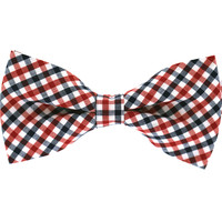 Tok Tok Designs Baby Bow Tie for 14 Months or Up (BK133, T/C Cotton)
