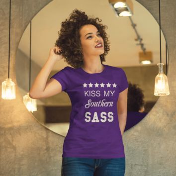 Kiss my Southern Sass shirt