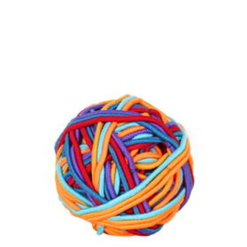 Neon Hairband Ball - Multi
