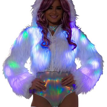 Light Up Cropped Jacket