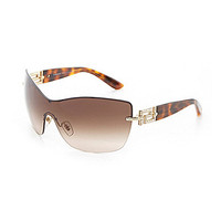 Versace Treasure Greca Luxury Shield Sunglasses