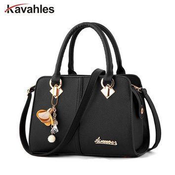 Brand women hardware ornaments solid totes handbag high quality lady party purse casual crossbody messenger shoulder bag PP-1205