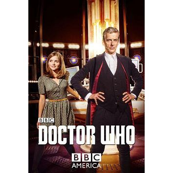 Doctor Who poster Metal Sign Wall Art 8in x 12in