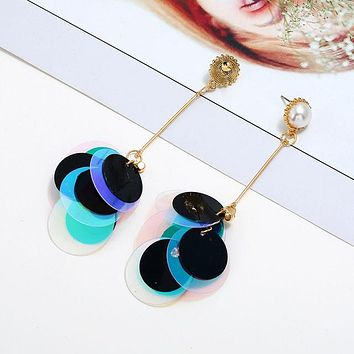 Over the moon for you earrings