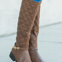 The Chery Boot, Tan