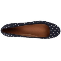 Fossil Women's Saxon Canvas Flat