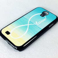 Infinity Sea Beach Samsung Galaxy S4 S3 NOTE 2 Rubber Case by ACYC