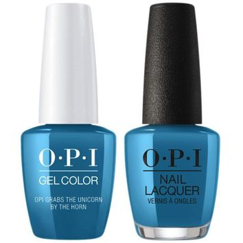 OPI - Gel & Lacquer Combo - OPI Grabs The Unicorn By The Horn