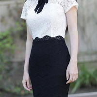 Roxanne Vintage Inspired Lace Dress  - Custom Sizing