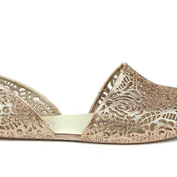 Stylishly and cozy Jelly loafer Ballet Sandal Flat. Easy Slip-on, Zig Zag weaving Bird nest Mesh