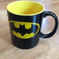 Officially Licensed Warner Brothers & DC Comics Super Hero Coffee Mug (Batman)