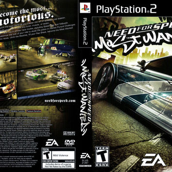 Need for Speed Most Wanted - Playstation 2 (Very Good)