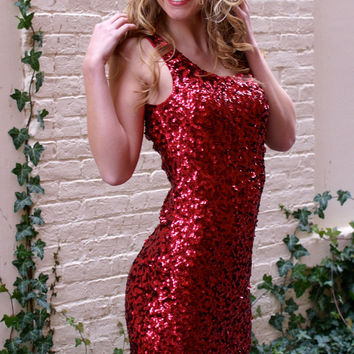 Hearts of Fire Dress: Red