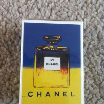 CHANEL No5 -ANDY WARHOL LIMITED ED. PARFUM 7.5ML & GIFT BAG - SEALED & NEW