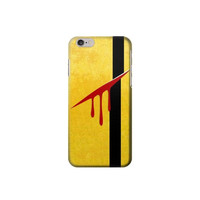 P7047 Kill Bill Yellow Tracksuit Case For IPHONE 6