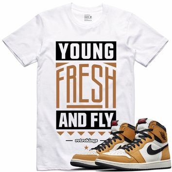 Jordan 1 Rookie of the Year Sneaker Tees Shirt - YOUNG FRESH RK