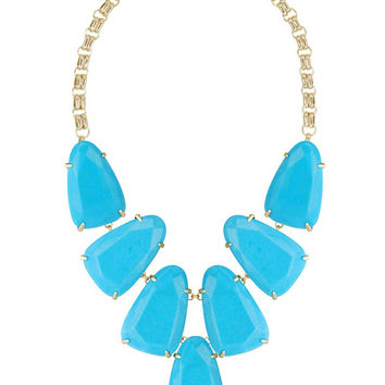KENDRA SCOTT - Harlow Statement Necklace in Turquoise